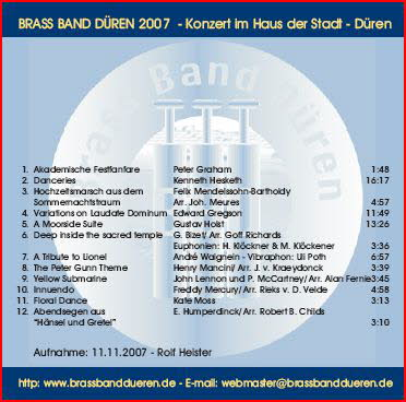 Brass Band Düren live 2007